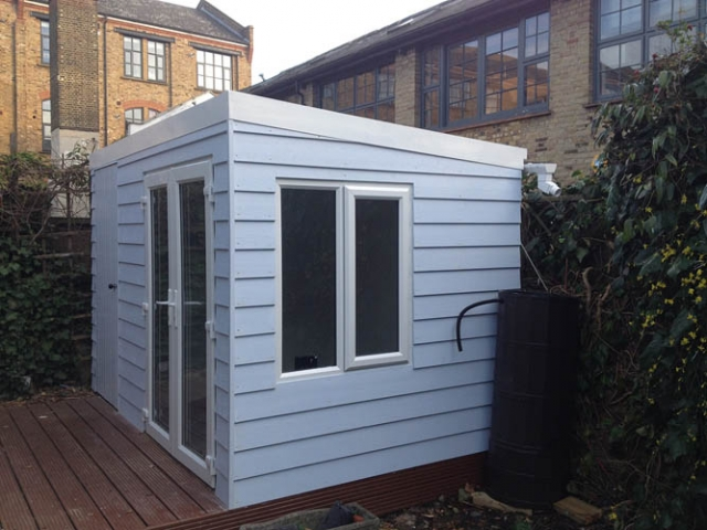 Garden Studio in London complete