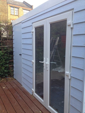Garden Studio in London complete: close up